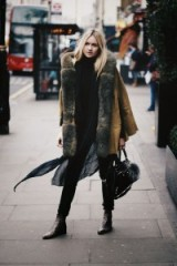 Winter street style. Warm coats – outfits – outfit ideas