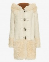 YVES SALOMON SHEARLING TOGGLE COAT in BISCUIT – As worn by Tamara Ecclestone out Christmas shopping in London, 14 December 2015. Celebrity fashion | winter coats | what celebrities wear | style icons clothing