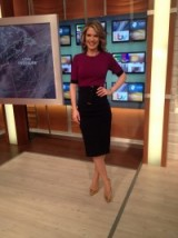 Charlotte Hawkins tedbaker.com dress office.co.uk rose gold shoes