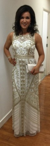 Susanna Reid in a beautiful Ariella.com dress