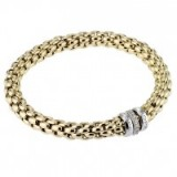 Fope Gioielli Flex-It 18ct gold bracelet ~ bling bracelets ~ make a statement ~ jewellery