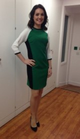 Laura Tobin always looks great in the morning presenting the weather