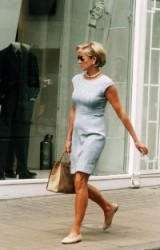 Princess Diana always stylish