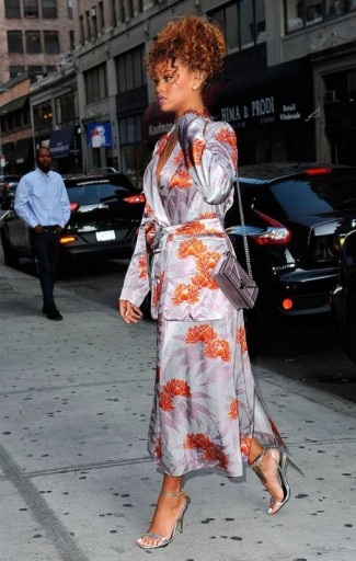Rihanna Style Out In New York City
