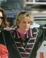 Princess Diana still looked gorgeous in her skiing gear