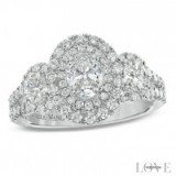Vera Wang platinum 1.45ct H1/SI2I1 diamond ring ~ bling rings ~ jewellery ~ jewels ~ make a statement ~ diamonds