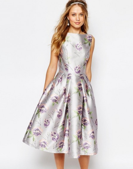 Chi Chi London Midi Prom Dress In Allover Floral. Party dresses ...