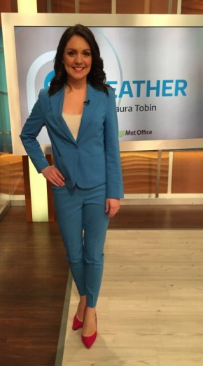 Laura Tobin looking chic in a Next.co.uk suit and DuneLondon.com shoes #stylish