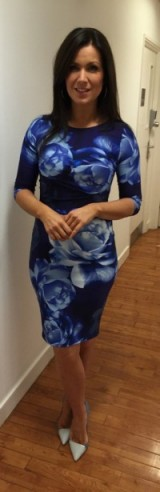 Coast-Stores.com floral dress – Susanna Reid