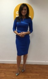 Susanna Reid looks sophisticated this morning!