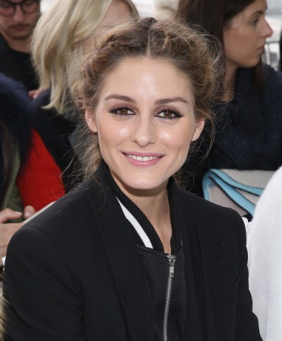 Olivia Palermo's make-up at the Delpozo Fall 2016 show ~ Front Row New York Fashion Week ~ celebrity beauty ~ style icon