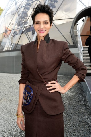 Farida Khelfa at Louis Vuitton – Paris Fashion Week Fall/Winter 2015-16, March 2015 – French chic – style icons