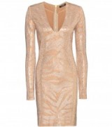 BALMAIN Embellished dress – bodycon dresses – luxe style occasion wear – luxury embellishments – designer clothes