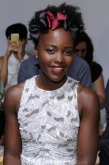 beautiful Lupita Nyong'o ~ women with style ~ beautiful women ~ stylish celebrities