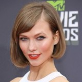 Karlie Kloss short sleek bob ~ celebrity hairstyles