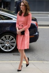 Catherine Duchess of Cambridge wears a red and white check suit for her engagement with urban youth charity XL Mentoring in London, March 2016 ~ Kate Middleton style ~ Kate's wardrobe ~ royal fashion ~ Kate Middleton's outfits