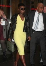 stylish Lupita Nyong'o ~ stylish celebrities ~ beautiful women ~ chic look