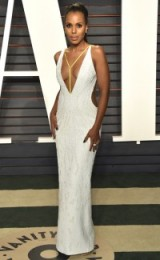 Kerry Washington at the 2016 oscars party ~ beautiful women ~ women with style