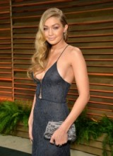 Gigi Hadid's hair in Hollywood style retro waves – celebrity hairstyles – beauty