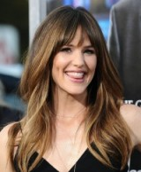 Jennifer Garner's long wavy hair ~ celebrity hairstyles