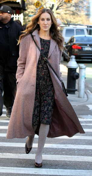 Sarah Jessica Parker in HBO's Divorce ~ SJP style ~ outfits