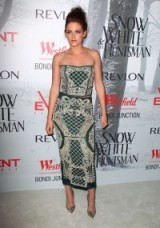 Kristen Stewart chose to wear this Balmain pearl embellished two piece in 2012 when she attended the Australian premiere of Snow White and The Huntsman