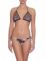 ZIMMERMANN Henna crochet and printed bikini ~ luxe style ~ bikini sets ~ designer beachwear ~ chic poolside accessories ~ holiday fashion ~ summer