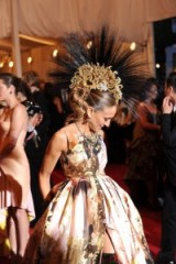 Sarah Jessica Parker at the 2013 Met Gala in New York ~ SJP style ~ gowns ~ glamour