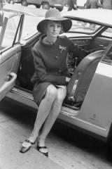 60s model Jean Shrimpton ~ 1960s glamour ~ vintage fashion ~ glamorous life