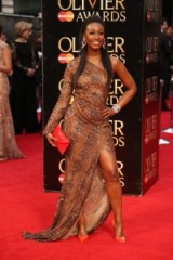 Beverley Knight – red carpet arrivals at the 2016 Olivier Awards