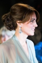 Catherine Duchess of Cambridge ~ Kate Middleton hairstyles ~ royal updos ~ Kate's hair