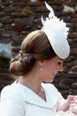 Catherine Duchess of Cambridge style ~ Kate Middleton hair ~ royal updos ~ Kate Middleton's hairstyles
