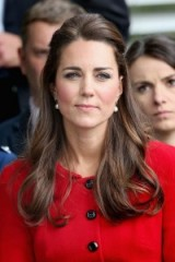 Kate Middleton half up half down hair ~ royal hairstyles ~ Duchess of Cambridge