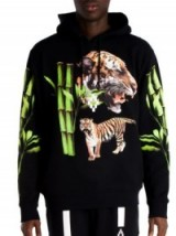 Marcelo Burlon X Tyga Tiger Head Hoodie – as worn by Kylie Jenner out shopping in Hollywood, 26 June 2016. Celebrity fashion   casual star style hoodies   men's sweatshirts