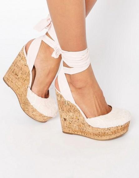 Summer Wedge Heels - Is Heel