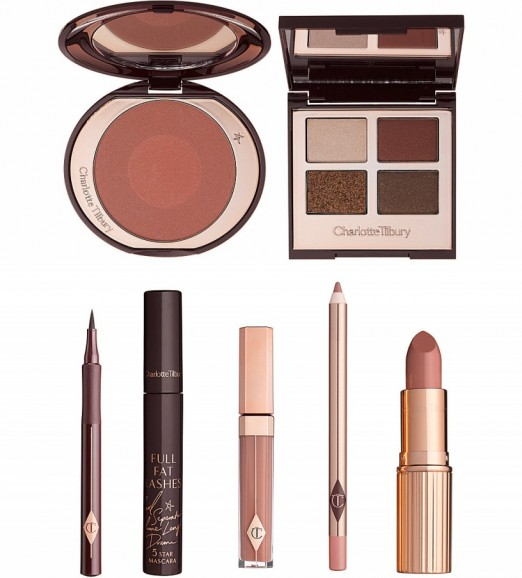 CHARLOTTE TILBURY The dolce vita look gift box – cosmetics – make up – beauty – eyes – lips