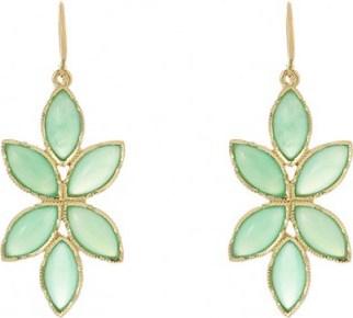 IRENE NEUWIRTH Floral Drop Earrings / jewelry - flipped