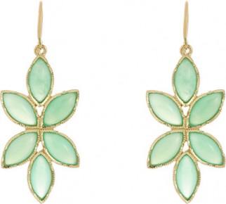 IRENE NEUWIRTH Floral Drop Earrings / jewelry