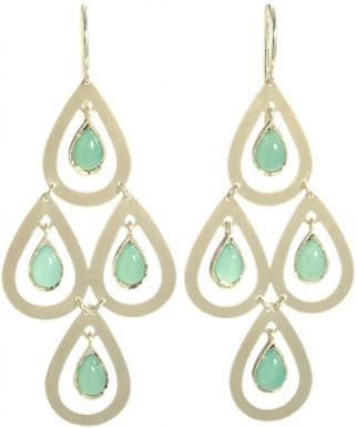 IRENE NEUWIRTH Gemstone Chandelier Earrings / drop earrings / luxe jewelry