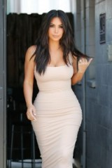 kim kardashian ~ beautiful women ~ style ~ celebrity hairstyles ~ hair / beauty