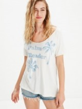 MOTHER Concert Tee Palm Reader / printed tees / relaxed t-shirts / keep it casual / walk on the beach / cool fashion / weekend tops