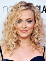 Fearne Cotton's hair in big blonde curls ~ celebrity hairstyles ~ glamour ~ glamorous