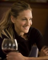 Carrie Bradshaw hair ~ high ponytail ~ Carrie Bradshaw's hairstyles