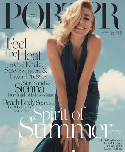 Sienna Miller for Porter 15 Summer Escape 2016 ~ front covers ~ magazine photo shoots ~ celebrity style