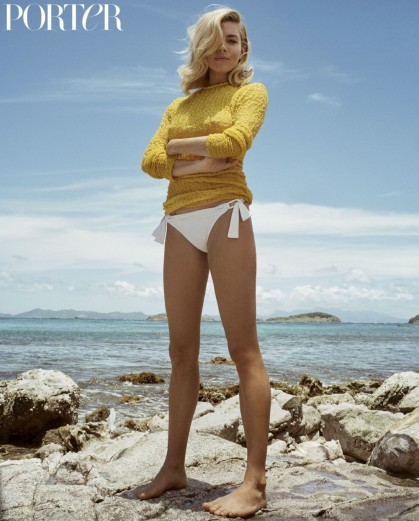 Sienna Miller for Porter 15 Summer Escape 2016 ~ magazine photo shoots ~ celebrity fashion ~ beach style