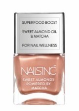 NAILS INC. Sweet Almond Collection in Mayfair Market Mews – nude tone varnish – summer polish – makeup