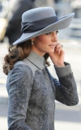 Duchess of Cambridge ~ Kate Middleton's chic looks ~ royal style ~ hats ~ outfits ~ Erdem coats