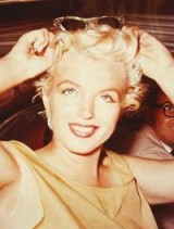 I have never seen this image of Marilyn, I think she looks stunning…..vintage style, hair, beauty & sunglasses