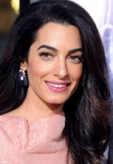 Amal Clooney glamorous hair & make up ~ glamour ~ women with style