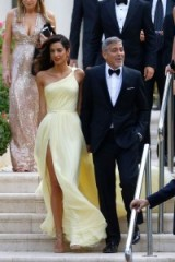 Amal Clooney…breathtaking in Atelier Versace ~ style icon